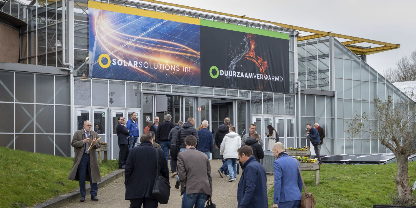 Trade shows Solar Solutions International and Green Heating postponed to September